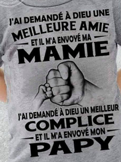 """T-shirt enfant - """"J'ai demandé ..."""""""