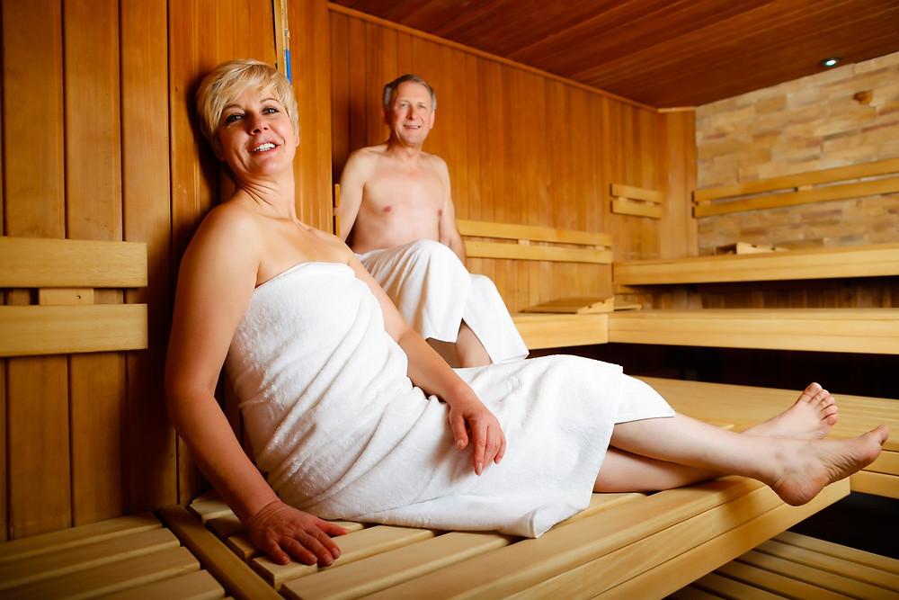 Sauna cure thermale