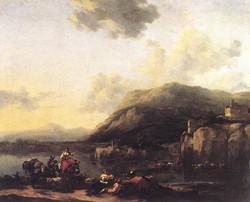 Landscape with Jacob, Rachel, and Le