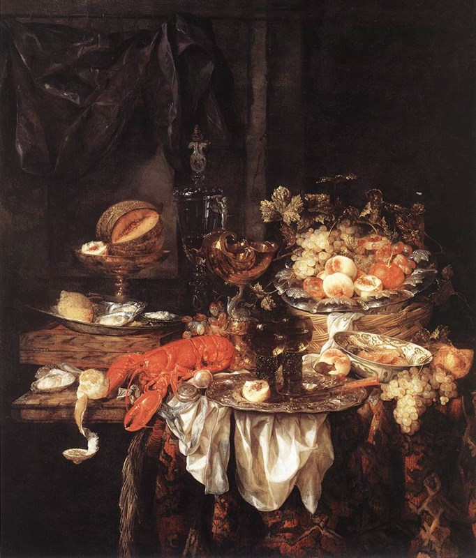 Banquet Still­Life with a Mouse