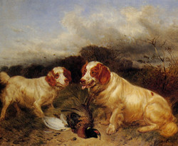 Ansdell_Richard_Rover_And_Ruby_1882_Oil_