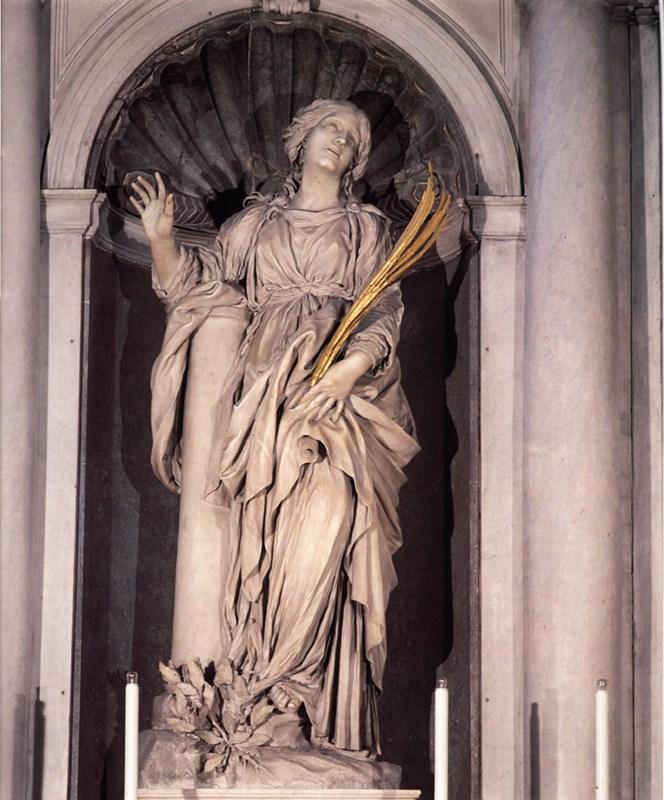 Saint Bibiana  Marble   St Peter's |