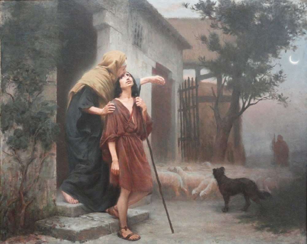 The Departure of Jacob