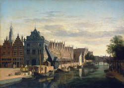 the_weigh-house_and_crane_on_the_spaarne