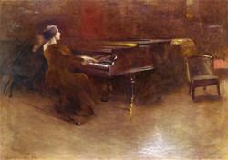 At the Piano Helen Hopekirk Wilson
