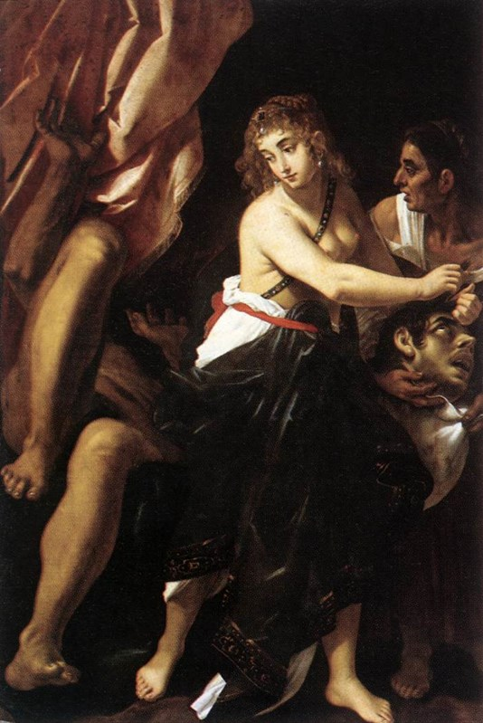 Judith and the Head of Holofernes 16