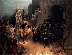 The Surrender Of The City Of Rosenbe