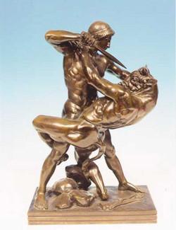 Thesée et le Minotaure Theseus and t