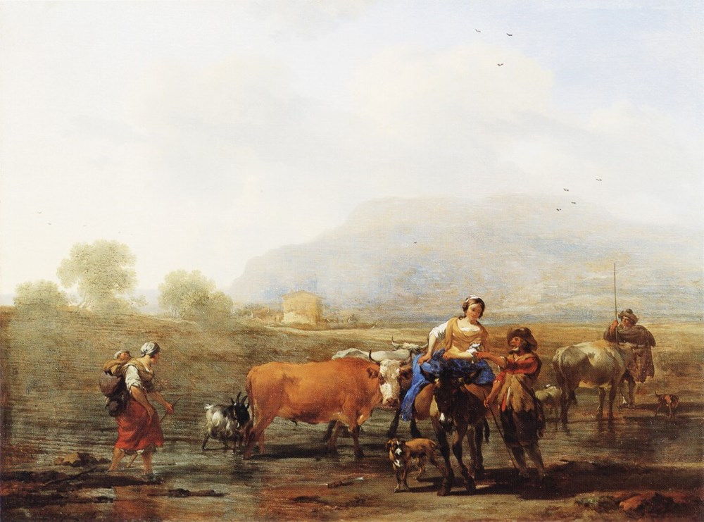 Travelling Peasants (Le Soir)