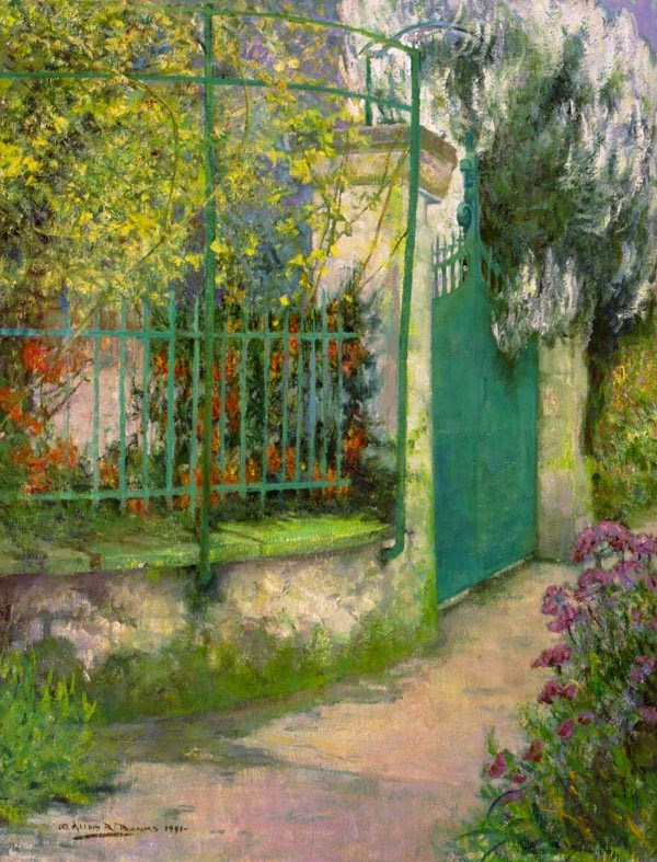 Monet's Gate at Giverny