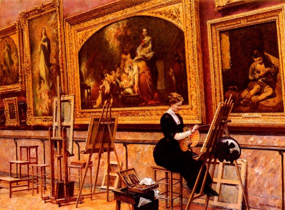 Au Musee Du Louvre  Les Murillo At