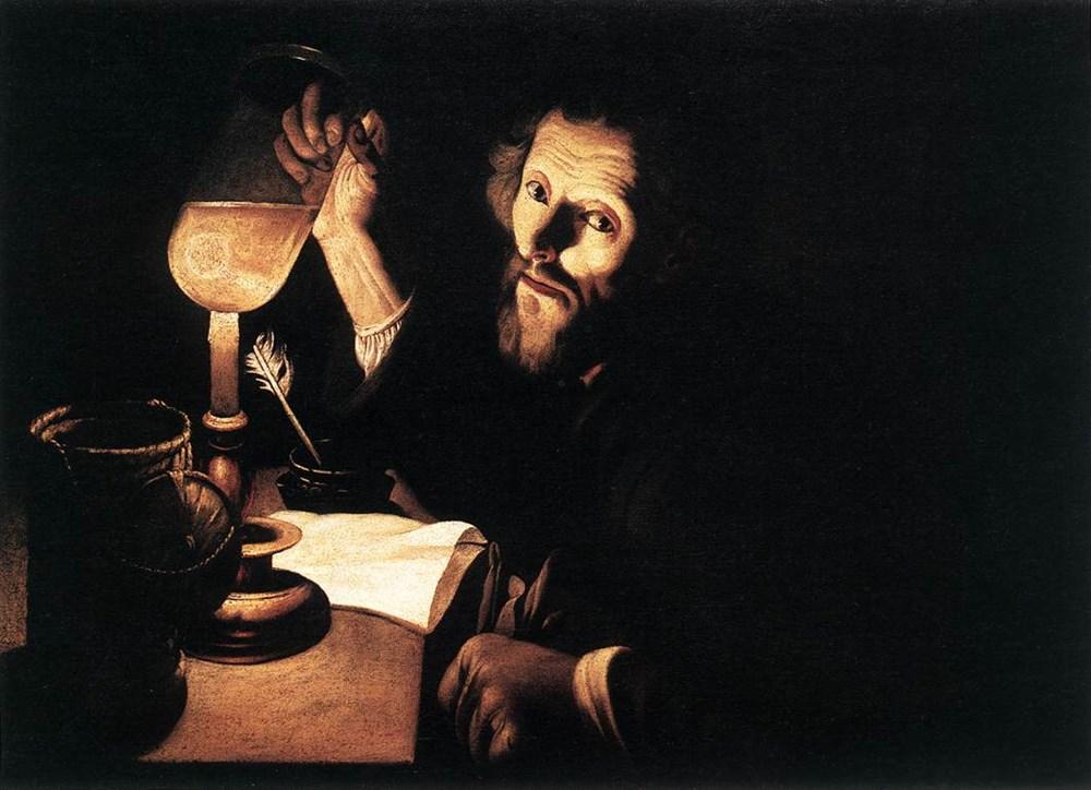 A Doctor Examining Urine