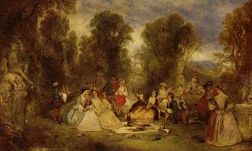 Andrews_Henry_THe_Garden_Party_1866_Oil_