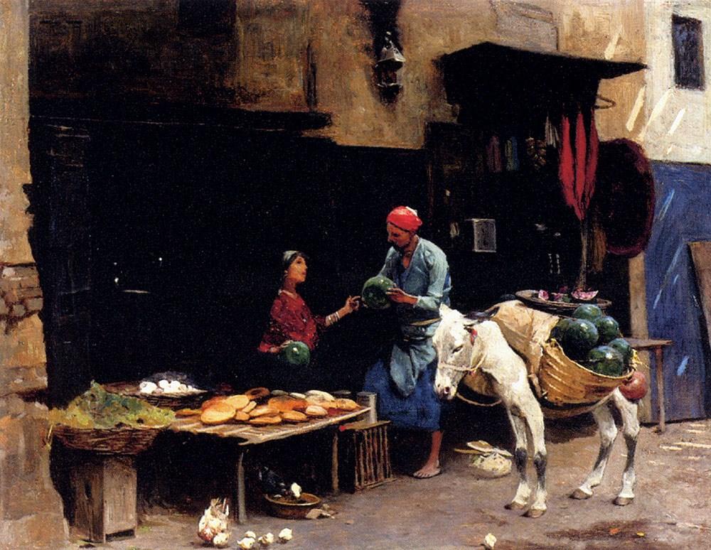 The Watermelon Seller