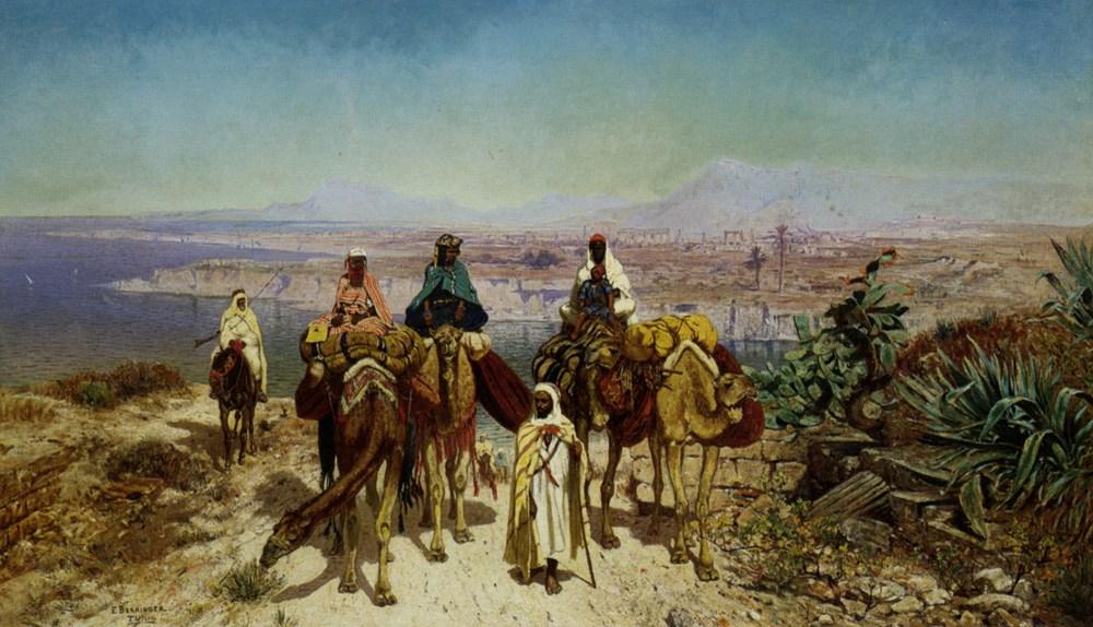 An Arab Caravan