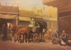 Horse Carriage Rabl in Kathimiya, Ba