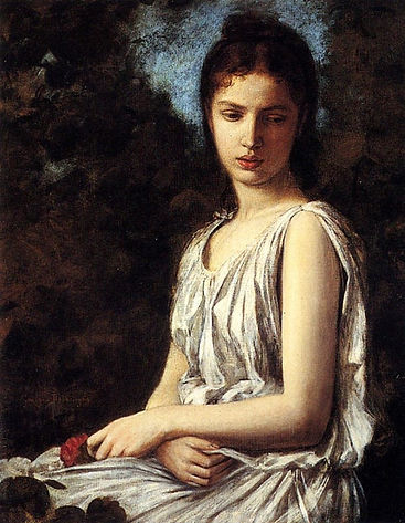 a_young_woman_in_classical_dress_holding