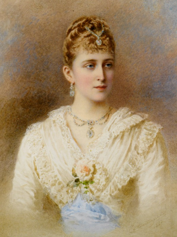 Portrait of Grand Duchess Elizaveta
