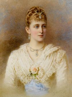 Portrait of Grand Duchess Elizaveta