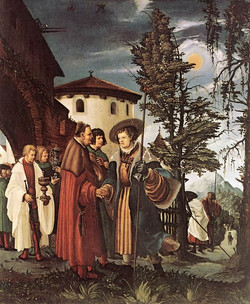 St. Florian Taking Leave Of The Mona