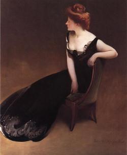Portrait of Mrs. V (Mrs. Herman Dury