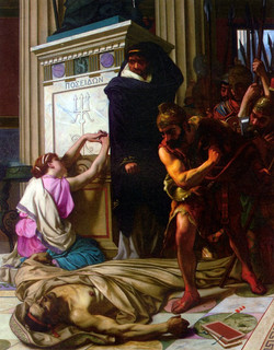 The Death of Demosthenes
