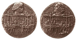 Medal of the Pazzi cospiracy, obvers