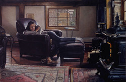 Winter's Afternoon (Painted from Lif