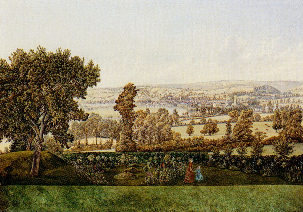 A Garden Landscape In The West Count