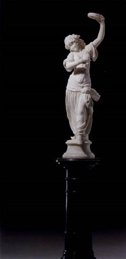 The Oriental Dancer  White Marble