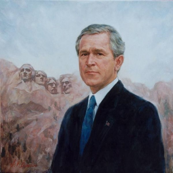 Portrait of President George W. Bush