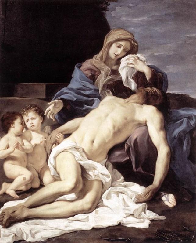 The Pietà (Mary Lamenting the Dead C