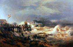 Storm at Dutch Coast