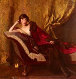 Portrait Of Countess Michael Karolyi