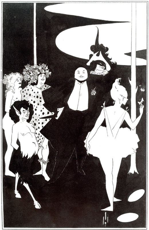 Design for the Frontispiece to 'Play
