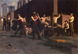 The Ironworker's Noontime 1880