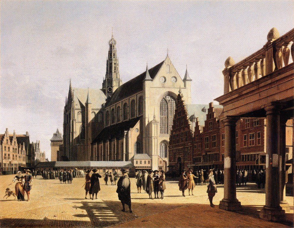 The Marketplace and Church at Haarle