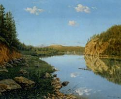 Landscape in the Urals