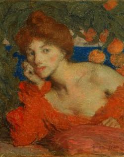 Sous les Orangers (Femme à Amalfi) U