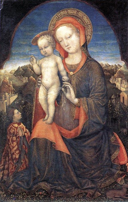 Madonna and Child Adored by Lionello