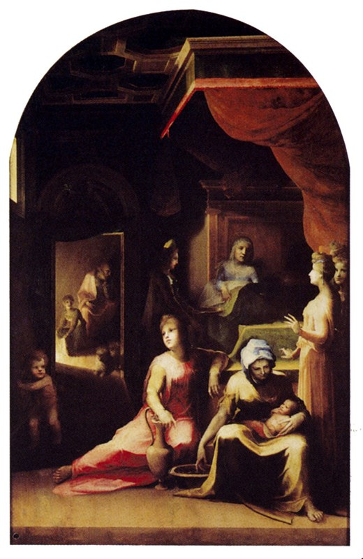 Birth Of The Virgin 1530