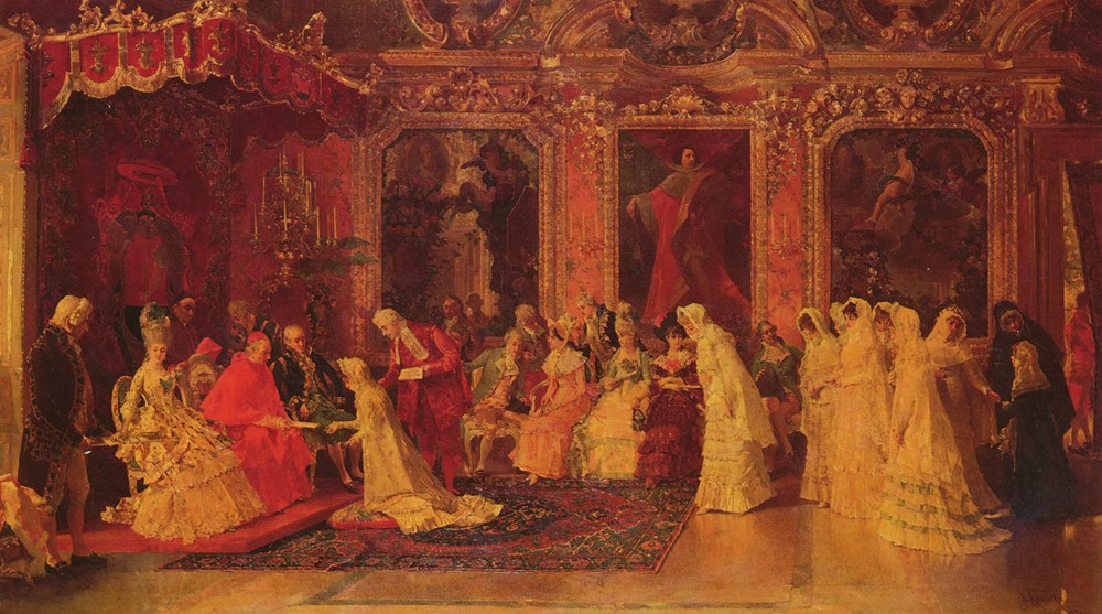 Princess Borghese Bestowing Dowries