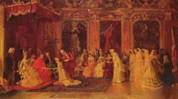 Princess Borghese Bestowing Dowries