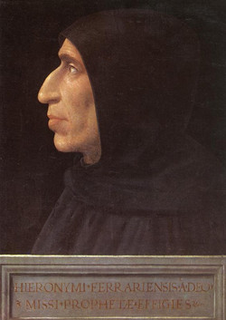 Portrait of Girolamo Savonarola circ