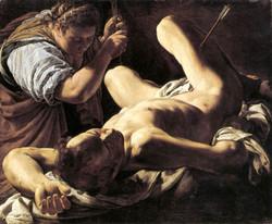 St Sebastian Tended by St Irene