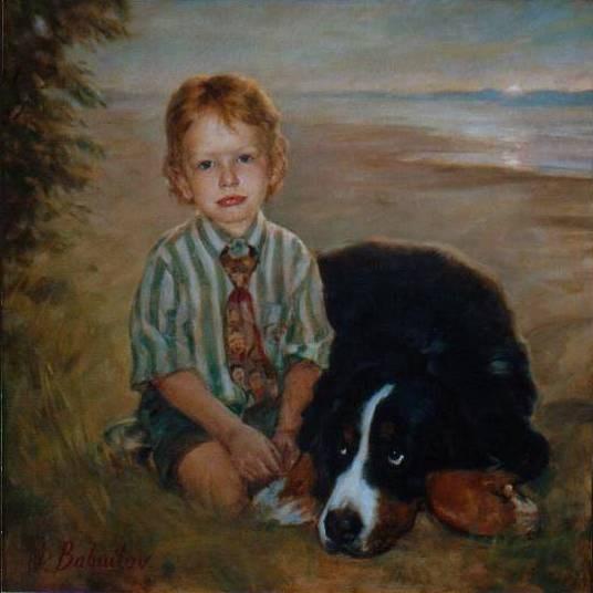 Dillon and His Dog