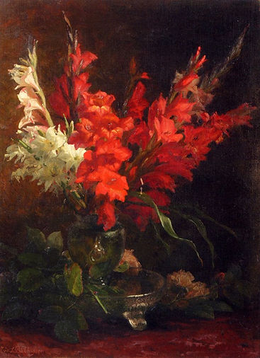 a_still_life_with_gladioli_and_roses-lar