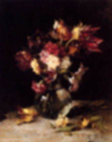 still_life_of_tulips_and_carnations_in_a