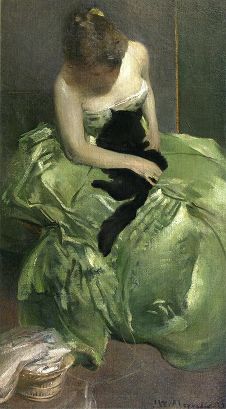 The Green Dress circa 1890-circa 189