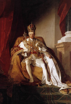 Emperor Franz I of Austria in his Co